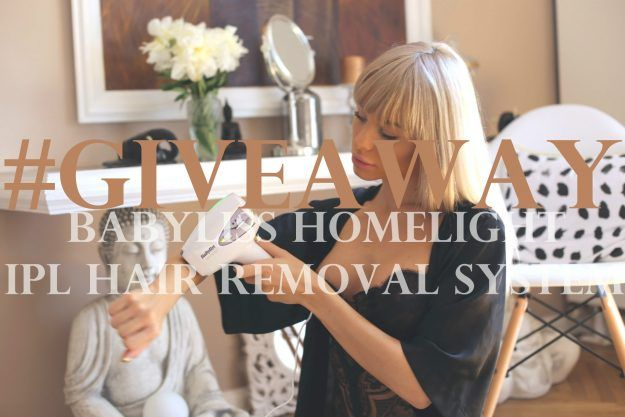 GIVEAWAY: BaByliss Homelight IPL Hair Removal System