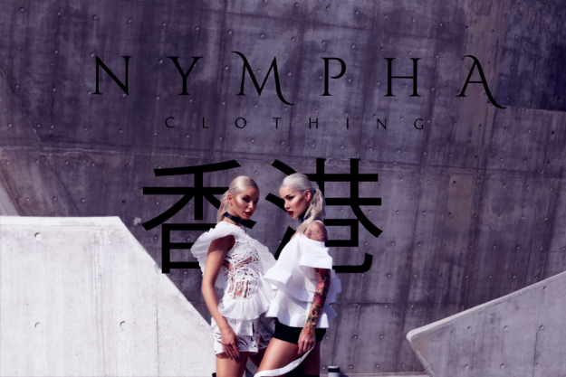 "NYMPHA SPRING SUMMER 2017  campaign – ""LET'S GET LOST TOGETHER"""