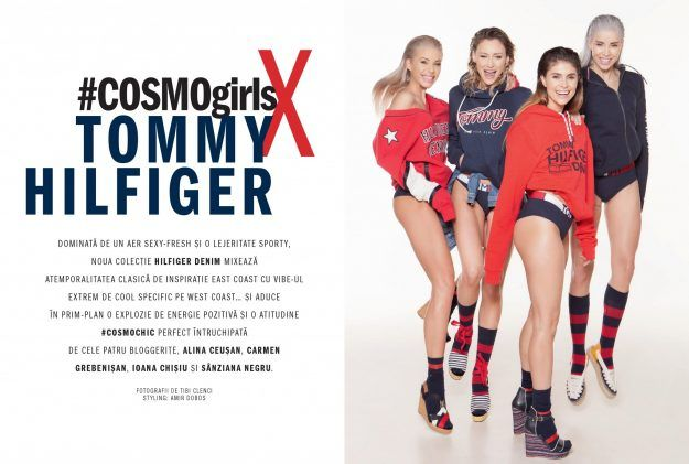 WE'RE IN COSMOPOLITAN magazine / COSMOgirls X TOMMY HILFIGER