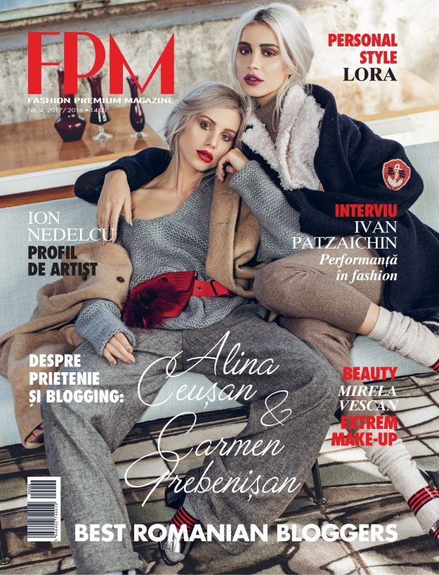 We're on the cover of FPM – FASHION PREMIUM MAGAZINE