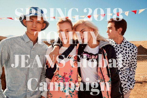 F NEWS: SPRING 2018 TOMMY JEANS Global Campaign